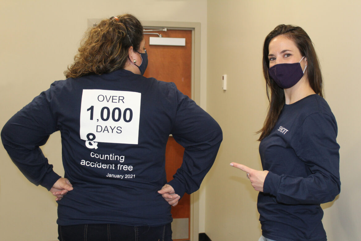 SCHOTT celebrates 1,000 days of accident free work